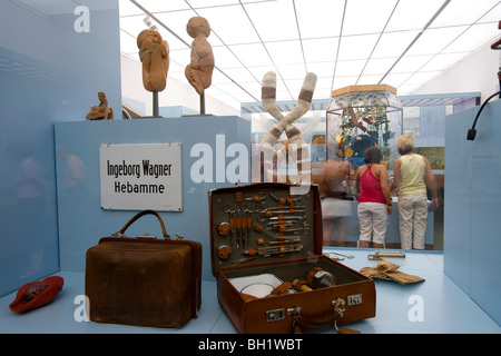 Das Deutsche Hygiene Museum DHMD Room 1 Living And Dying