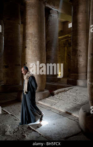 Temple of Seti I at Abydos, Egypt, Africa - Stock Photo