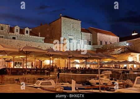 Dubrovnik harbour , Dominican Monastery , Old City of Dubrovnik, Croatia, Europe,  - Stockfoto