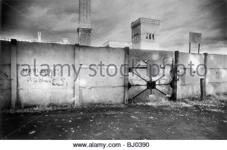A section of the Berlin Wall, Berlin, Germany - Stockfoto