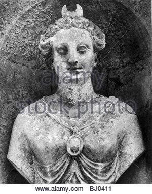 Statue, Chateau Raray, Picardy, France - Stockfoto