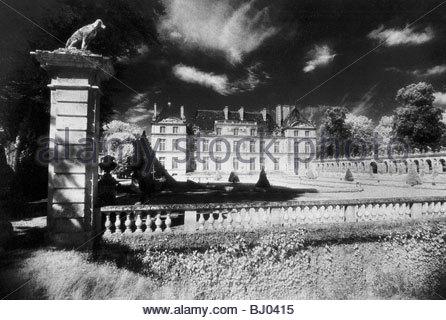 Chateau Raray, Picardy, France - Stockfoto