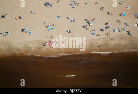 Beach at the ocean - Stock Photo