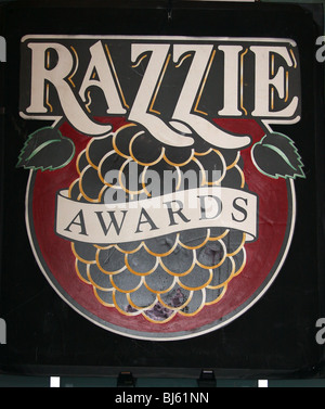 RAZZIE AWARDS POSTER THE GALA 30TH ANNUAL RAZZIE AWARDS HOLLYWOOD LOS ANGELES CA USA 06 March 2010 - Stock Photo