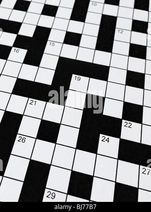 Crossword - Stockfoto