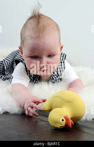 Child hand pick up object isolated on white background ...