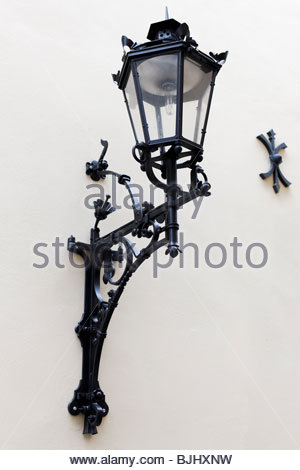 Decorative, oil lamp - Stock Photo