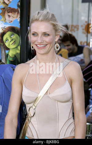 CAMERON DIAZ SHREK 2 L.A. FILM PREMIERE WESTWOOD LOS ANGELES USA 08 May 2004 - Stock Photo