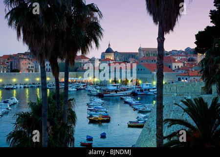 Harbor of Dubrovnik, Croatia - Stockfoto