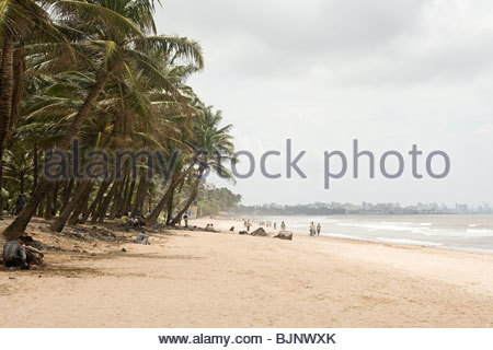 Mumbai beach - Stock Photo
