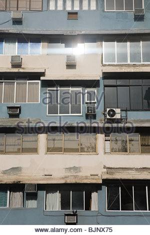 Facade of a building - Stock Photo