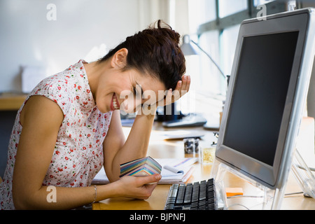 Businesswoman working - Stock Photo