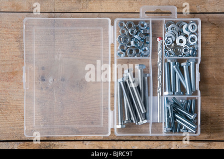 Nuts and bolts - Stock Photo