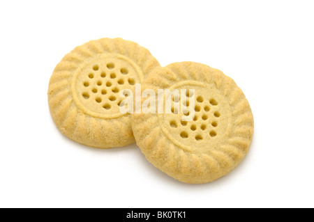 Shortbread Biscuits - Stock Photo
