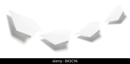 Paper Planes - Stock Photo