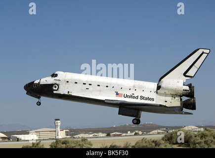 space shuttle landing at edwards air force base - photo #14