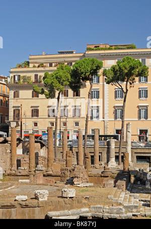 Largo di Torre Argentina, Rome, Lazio, Italy, Europe - Stock Photo