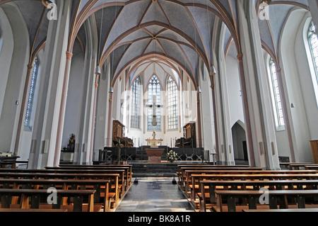 Church of St. Gangulphus, Heinsberg, North Rhine-Westphalia, Germany, Europe - Stock Photo