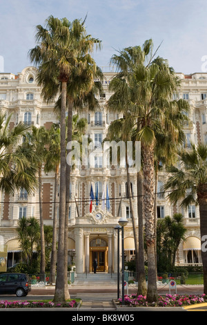 Cannes (06) : The Carlton hotel - Stock Photo