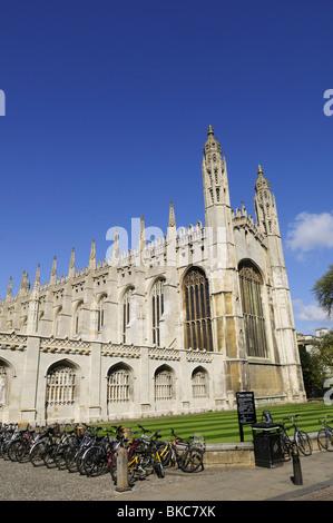 King's College Chapel, Cambridge, England, UK - Stock Photo