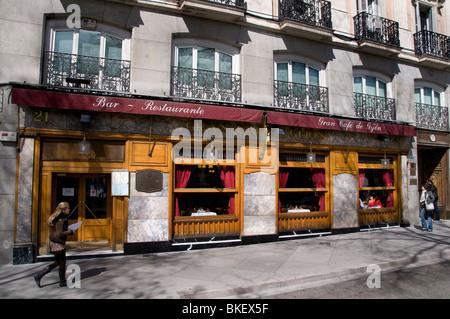Cafe De Gijon Madrid