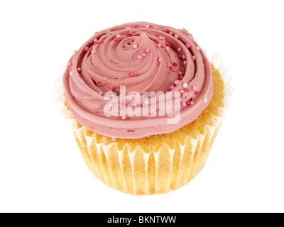 Raspberry and White Chocolate Cake - Stock Photo