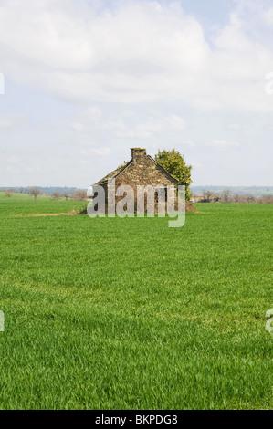 Old Farm Barn In Disrepair Ray Boswell Stock Photo