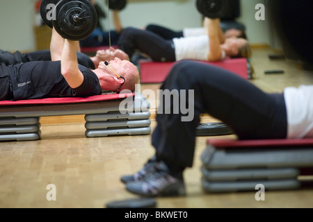 People training in health center - Stock Photo