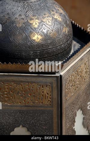 Lamp in the Port Ghalib resort in Egypt - Stockfoto