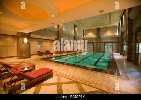 Indoor Pool At The Empire Hotel And Country Club Bandar Seri Stock Photo Royalty Free Image