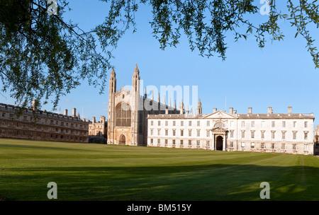 Kings College Chapel Cambridge UK - Stock Photo