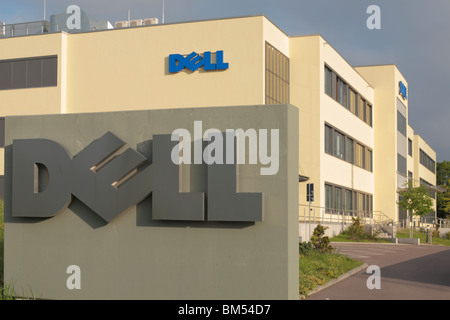 dell call center for germany in halle saale dell computers offices stock photo 29760039 alamy. Black Bedroom Furniture Sets. Home Design Ideas