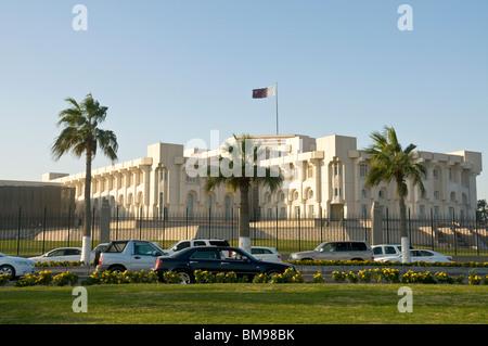 Qatar doha diwan building government stock photo for Diwan amiri qatar