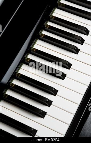 Piano Key close up shot - Stockfoto