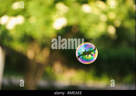 A soapbubble, Sweden. - Stock Photo