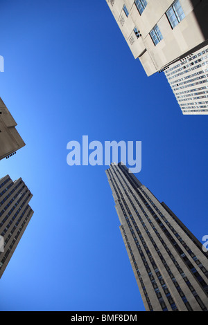 Rockefeller Center, Manhattan, New York City, USA - Stock Photo