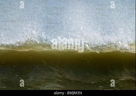 Waves at a beach - Stock Photo