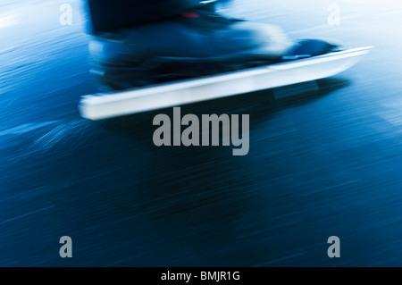 ice-skate,close-up - Stockfoto