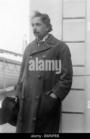 Photo c1920s of Albert Einstein (1879 - 1955) - the German theoretical physicist and Nobel Prize winner. - Stock Photo