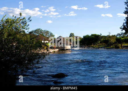Ranchão (Big Ranch), Correntina, Bahia, Brazil - Stock Photo
