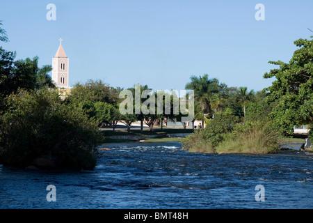 Correntes River, Correntina, Bahia, Brazil - Stock Photo