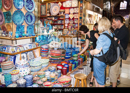 woman in a ceramic pottery store guangzhou china stock photo royalty free image 12198620 alamy. Black Bedroom Furniture Sets. Home Design Ideas