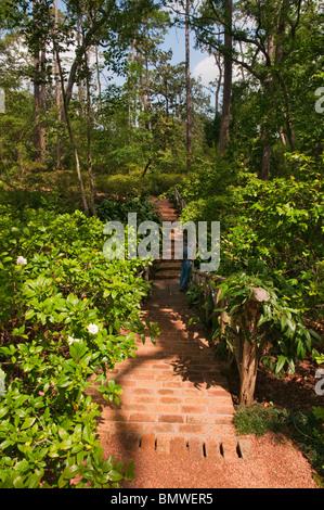 Texas Houston Bayou Bend Collection And Gardens Estate Of Miss Ima Stock Photo 30066054 Alamy