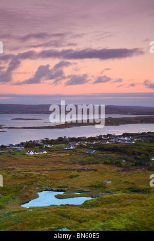 The Traditional Irish Fishing Village Of Union Hall On The