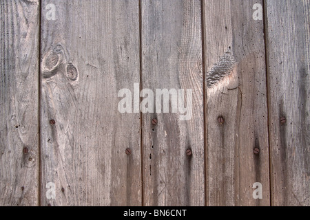 Old Wooden Planks and rusty Nails - Stockfoto