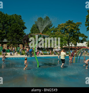 Summer heatwave and the public swimming pool or lido in for Paris public pool