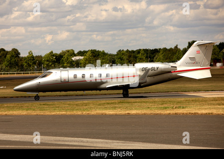 Business Jet Taking Off - Stock Photo