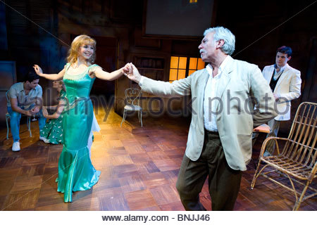 Aspects of Love directed by Trevor Nunn.Music by Andrew Lloyd Webber - Stock Photo