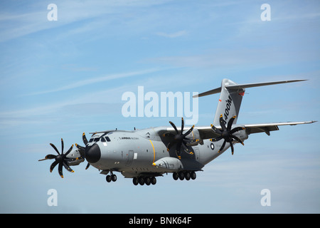An Airbus A400M military airplane - Stock Photo