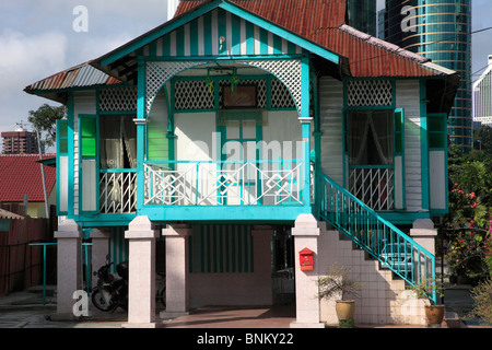 A Traditional Malay House Stock Photo Royalty Free Image